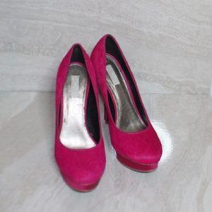 💖Rachel Roy Hot Pink Heels - size 7.5💖